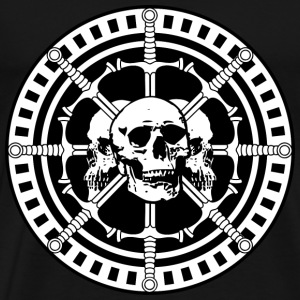 Skulls with Swords - Men's Premium T-Shirt