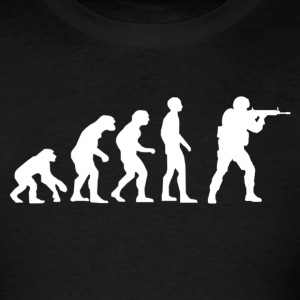 Evolution of source.png T-Shirts - Men's T-Shirt