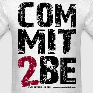 Commit2Be4lite.png T-Shirts - Men's T-Shirt