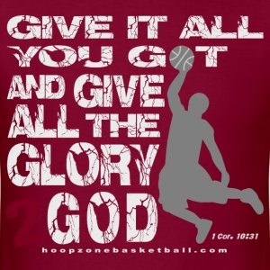 Glory2God4dark.png T-Shirts - Men's T-Shirt