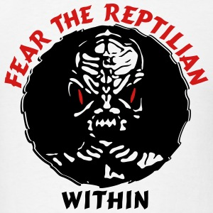 Fear the Reptilian Within - Men's T-Shirt