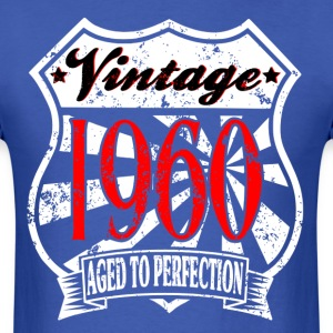 COOL VINTAGE 1960 Aged to Perfection Birthday T-Sh - Men's T-Shirt
