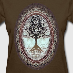 Tree of Life in Brown - Women's T-Shirt