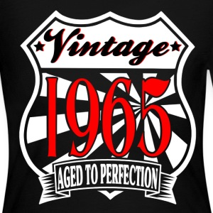 Aged to Perfection Vintage 1965 Birthday T Shirt - Women's Long Sleeve Jersey T-Shirt