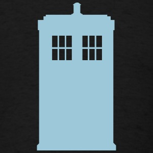 Police box - Doctor Who - Men's T-Shirt