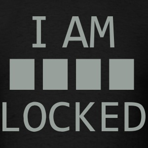 I am locked - Men's T-Shirt