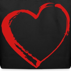 Heart Bags & backpacks - Eco-Friendly Cotton Tote
