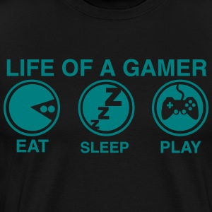 Life of a Gamer - Men's Premium T-Shirt