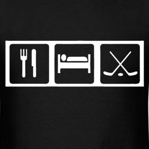 Eat, Sleep, Ice Hockey T-Shirts - Men's T-Shirt