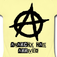 Design ~ Baby   Punk 'Anarchy Has Arrived' Shirt