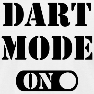 Dart Mode On T-Shirts - Men's T-Shirt by American Apparel