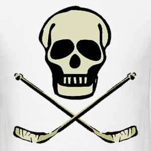 Hockey Skull T-Shirts - Men's T-Shirt