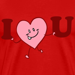 I Heart You T-Shirts - Men's Premium T-Shirt