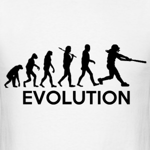 Evolution of a Softball Players T-Shirts - Men's T-Shirt