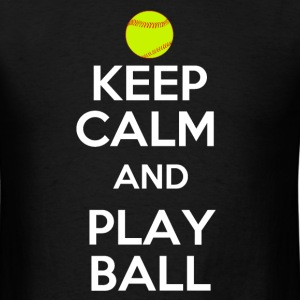 Keep Calm and Play On T-Shirts - Men's T-Shirt