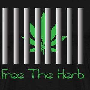 Free The Herb - Men's Premium T-Shirt