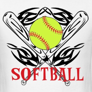 Softball Tribal T-Shirts - Men's T-Shirt