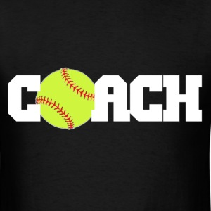 Softball Coach T-Shirts - Men's T-Shirt
