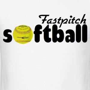 Fastpitch Softball T-Shirts - Men's T-Shirt