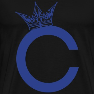 Chris Wonch C Crown T-Shirts - Men's Premium T-Shirt