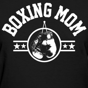 Boxing Mom Women's T-Shirts - Women's T-Shirt