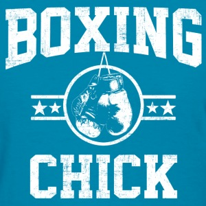 Boxing Chick Women's T-Shirts - Women's T-Shirt