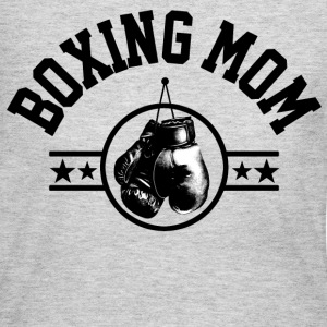 Boxing Mom Long Sleeve Shirts - Women's Long Sleeve Jersey T-Shirt