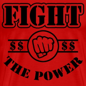 Fight The Power T-Shirts - Men's Premium T-Shirt