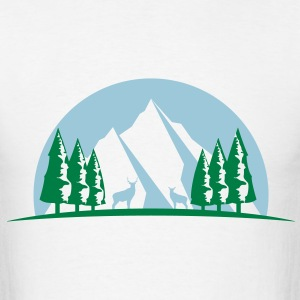 MOUNTAIN ELK TREE T SHIRT - Men's T-Shirt