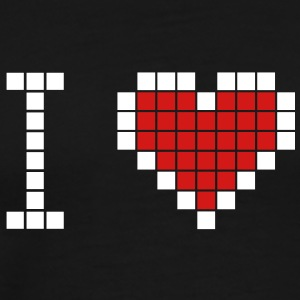 I love geek - Men's Premium T-Shirt
