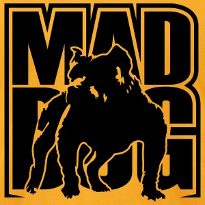 Mad dog T-Shirts - Men's T-Shirt by American Apparel