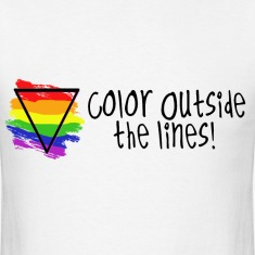 Color outside the Lines T-Shirts