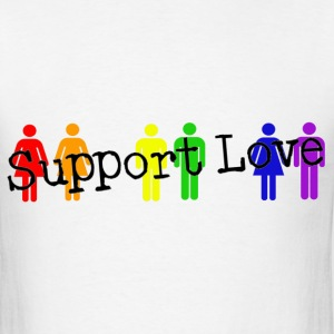 Support Love T-Shirts - Men's T-Shirt