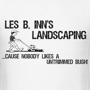 Les B Inn's Landscaping T-Shirts - Men's T-Shirt