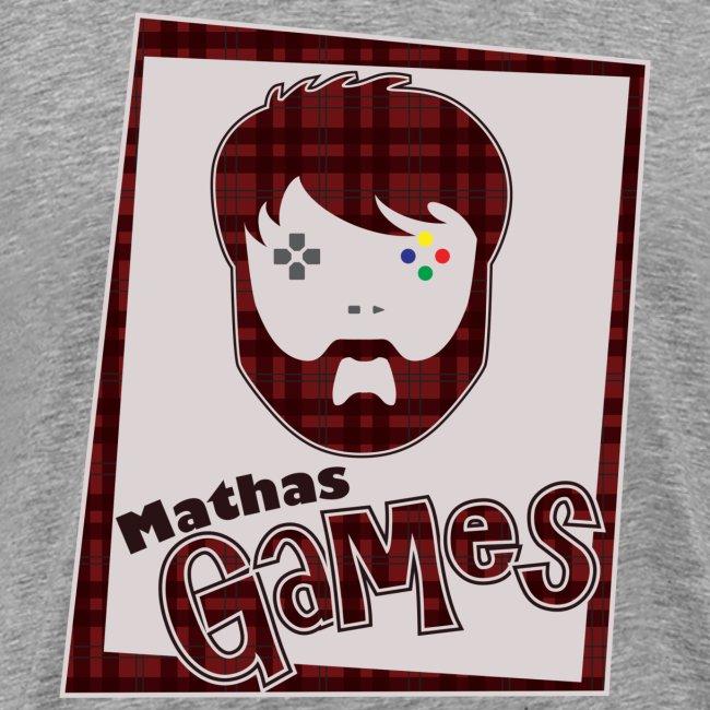 Mathas Games Full Logo Mens