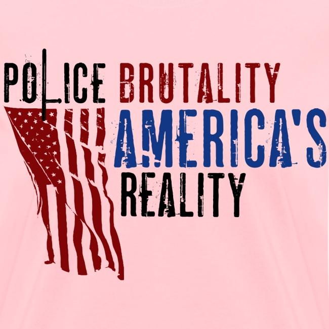 Boss Playa Police Brutality Women's Short Sleeve T-Shirt