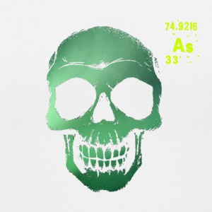 Arsenic Deterioration Men's White V-Neck - Women's V-Neck T-Shirt