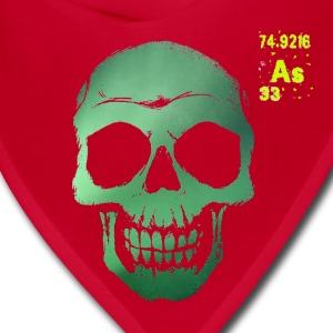 Arsenic Deterioration Bandana Red - Bandana