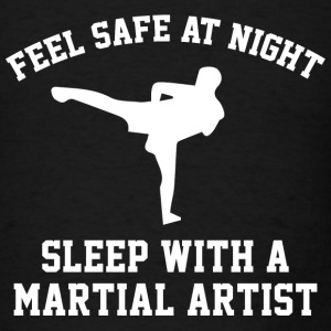Sleep With A Martial Artist - Men's T-Shirt