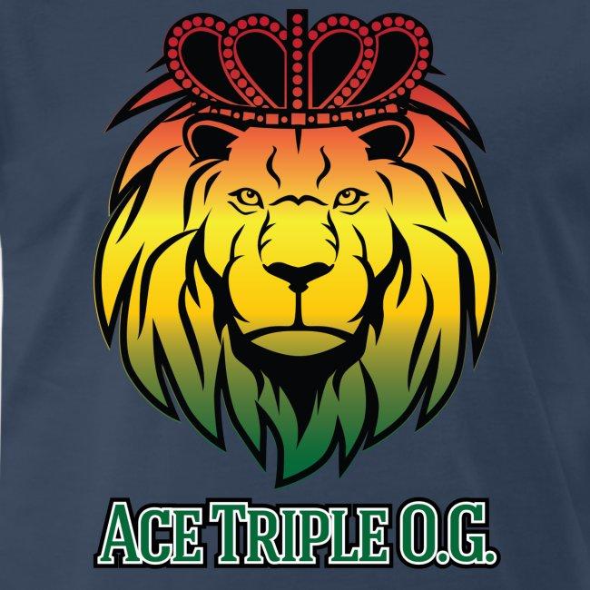 Boss Playa Ace Tripple OG LION Red 3XL Shirt