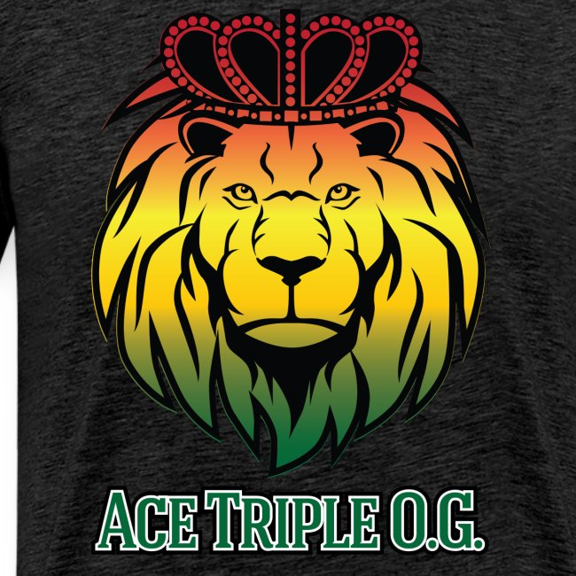 Boss Playa Ace Tripple OG LION Red 3XL Shirt