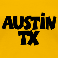Design ~ Austin TX T-Shirt (Women Yellow/Black)