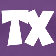 Design ~ TX T-Shirt (Women Purple/White)