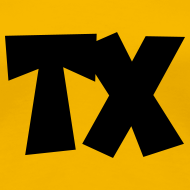Design ~ TX T-Shirt (Women Yellow/Black)