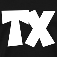 Design ~ TX T-Shirt (Men Black/White)