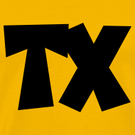 Design ~ TX T-Shirt (Men Yellow/Black)