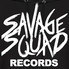 Savage Squad Recods Hoodies