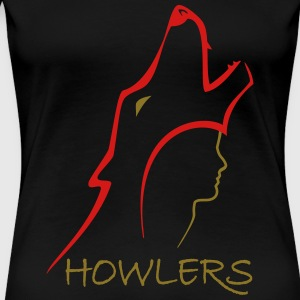 Original Howlers design for Red Rising Trilogy Women's T-Shirts - Women's Premium T-Shirt