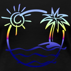 Beach Themed Shirts - Women's Premium T-Shirt
