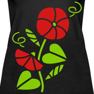 Flower Tanks - Women's Premium Tank Top